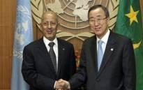 Algeria president Abdelaziz Bouteflika and United Nations Secretary General Ban Ki-moon. Picture: AFP