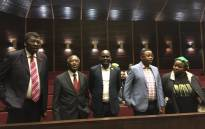 The KwaZulu-Natal ANC leadership. Picture: Ziyanda Ngcobo/EWN