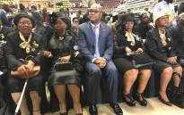 Dignitaries attend the funeral of late Joseph Dau Mafela at the University of Johannesburg Soweto campus. Picture: Kgothatso Mogale/EWN.