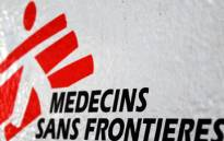 Mdecins Sans Frontires (MSF) logo. Picture: Taurai Maduna/Eyewitness News