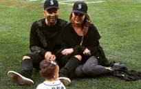 Model Chrissy Teigen and her husband John Legend are seen with their 15-month-old daughter, Luna. Picture: Instagram/@chrissyteigen.