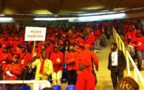 FILE: SACP members gather for their party conference. Picture: Matshidiso Madia/EWN.