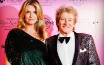 Penny Lancaster-Stewart with husband Rod Stewart. Picture: Instagram/penny.lancaster
