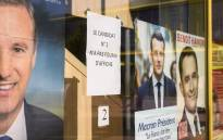 This picture taken at a polling station for French citizen living in Switzerland. Picture: AFP