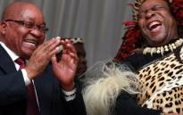 FILE: President Jacob Zuma and Zulu King Goodwill Zwelithini. Picture: GCIS.