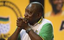Newly appointed ANC President Cyril Ramaphosa on 18 December 2017. Picture: Sethembiso Zulu/EWN.
