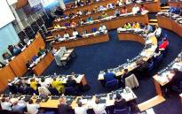 FILE: Cape Town Mayor Patricia de Lille addresses a full council sitting on 4 December 2013. Picture: EWN