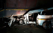 The accident happened on the N2 outside Ermelo in Mpumalanga on Friday night.  Picture: @ER24EMS.