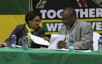 FILE: ANC Deputy Secretary General Jessie Duarte (left) and ANC Secretary General Gwede Mantashe at the party's special National Executive Committee meeting on 19 May 2014. Picture: Reinart Toerien/EWN
