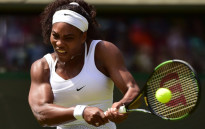US player Serena Williams during the 2015 Wimbledon Championships. Picture: AFP.