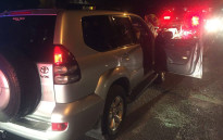 A taxi owner driving a Toyota SUV was shot on 1 June 2016. Picture: Arrive Alive.