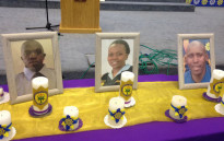 A memorial service was held on Tuesday, 29 November 2016 for three Cape Town officers who were killed in separate incidents. Picture: Lauren Isaacs/EWN.