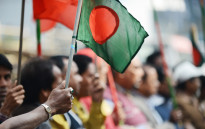 FILE: Bangladeshi national flag. Picture: AFP.
