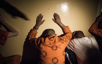 FILE: Prisoners are detained during a search and seizure in Pollsmoor Prison as part of Operation Vala. Picture: Thomas Holder/EWN.