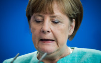 Angela Merkel's conservative Christian Democrats fell to third place in a state election.Picture: AFP.