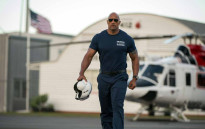 Dwayne Johnson during one of his set of the movie 'San Andreas'. Picture: San Andreas Official Facebook.