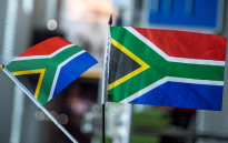 South African flags. Picture: Thomas Holder/EWN.