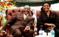 FILE: Zimbabwean President Robert Mugabe aNd his wife, Grace Mugabe. Picture: AFP.