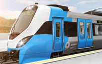 FILE: A prototype of Prasa's new locomotive series. Picture: Twitter via @AlstomItalia.
