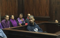 FILE: Aljar Swartz in court moments before being found guilty of the October 2013 murder of Lee Adams. Picture: Siyabonga Sesant/EWN.