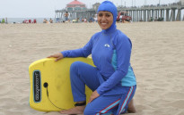 Body-covering burkini swimsuit worn mostly by some Muslim women. Picture: Facebook.
