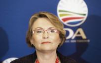 FULE: Western Cape Premier Helen Zille. Picture: AFP.