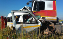 Metro services closed off the road while paramedics and fire services assessed the scene of the accident on 28 January 2015 morning. Picture: ER24.