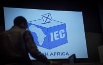Inside the IEC's Western Cape results centre. Picture: Aletta Harrison/EWN