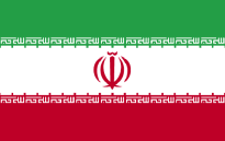 The Iranian flag. Picture: Wikimedia Commons