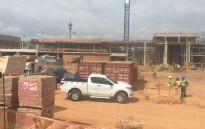 Construction still underway for the Nelson Mandela Children's Hospital in Parktown on 22 April 2015. Picture: Thando Kubheka/EWN.