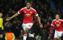 Manchester United's Rashford celebrate his goal during the Europa League second leg against Midtjylland on 25 February 2016. Picture: Manchester United official Facebook page.