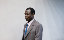 Dominic Ongwen at the Internatioanl Criminal Court. Picture: AFP