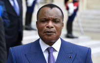 President Denis Sassou Nguesso of the Republic of Congo. Picture: AFP.