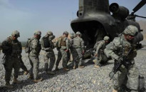 FILE: Soldiers in Afghanistan. Picture: AFP