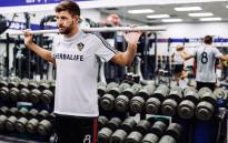 FILE: Steven Gerrard in training session with LA Galaxy in July 2015. Picture: LA Galaxy/Facebook