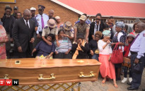The Gauteng provincial government officially handed over the remains of Palesa Madiba to her family.Picture: Kgothatso Mogale/EWN