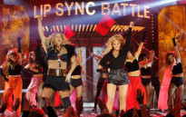 Channing Tatum and Beyoncé perform on Lip Sync Battle. Picture: @SpikeLSB via Twitter.