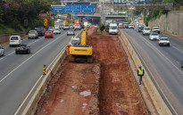 FILE: Work on the M1 freeway between Killarney and Crown Interchange.  Picture: Christa Eybers/EWN.