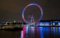 FILE: The London Eye. Picture: AFP.