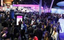 Visitors explore the showroom at CES 2017 in Las Vegas. Picture: Supplied