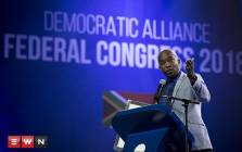 Democratic Alliance leader Mmusi Maimane at the party's elective congress on Sunday 8 April 2018. Picture: Sethembiso Zulu/EWN