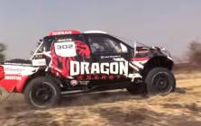 One of the vehicles in the SunCity 400 race. Picture: EWN.