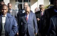 President Jacob Zuma arrives at the traditional leaders indaba in Boksburg on 29 May 2017. Picture: Reinart Toerien/EWN