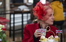 South African's celebrate Royal Wedding. Picture: Ihsaan Haffagee/EWN