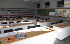 Sutherland High School in the Karoo is the proud recipient of a fully equipped, state of the art science lab. Picture: Bertram Malgas/EWN