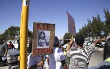 Stacha Arendse's body was found on a field along Swartklip Road in the early hours of Tuesday morning. Picture: Cindy Archillies/EWN