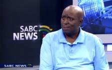 A screengrab of SABC radio presenter and sports commentator Cebo Manyaapelo. Picture: Screengrab/YouTube.