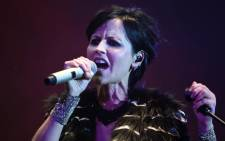 This file photo taken on 7 July 2016 shows Irish singer Dolores O'Riordan of Irish band The Cranberries performing on stage during the 23th edition of the Cognac Blues Passion festival in Cognac. Picture: AFP