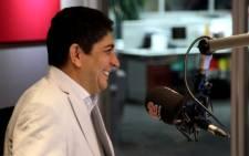 Vodacom CEO Shameel Joosub at the Talk Radio 702 studio on 11 November 2013. Picture: Reinart Toerien