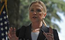 US State Secretary Hillary Clinton cancelled a trip to Libya after suffering a concussion on Saturday. Picture: Regan Thaw/EWN